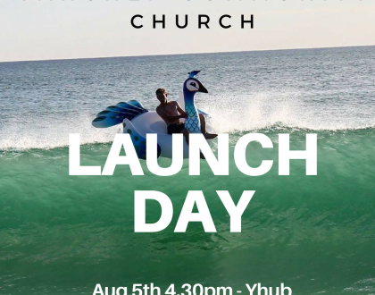 Launch Day - August 5th 4.30pm YHUB